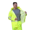 Majestic - Polyester Hi-Visibility Class III Rain Jacket