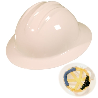 Bullard - Classic Full Brim Hard Hat, Ratchet Suspension