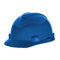 MSA Safety V-Gard, Front Cap Construction Hard Hat