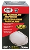 SAS Safety 8610 N95 Particulate Respirator, Case of 8