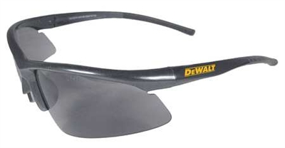 DeWalt - Safety Glasses, Smoke, Scratch-Resistant