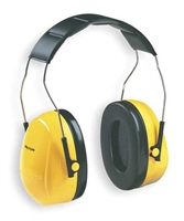 3M - Ear Muff  25dB, Over the Head - Yellow