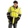 OccuNomix - Class III Insulated Parka - Yellow | Lime