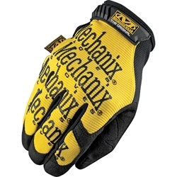 Mechanix Wear Original Series Yellow Synthetic Leather Gloves