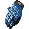 Mechanix Wear Original Series Blue Synthetic Leather Gloves