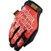 Mechanix Wear Original Series Orange Synthetic Leather Gloves