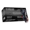 Microflex Midknight Black, Powder-Free Nitrile Gloves (Case of 10)