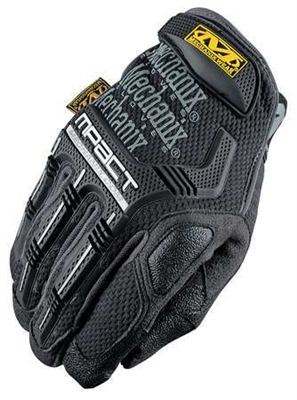 Mechanix Wear M-Pact Stealth Black Performance Work Gloves