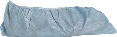 DuPont Shoe Covers, Slip Resist Sole, Large, Blue (PK 200)