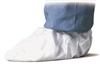 DuPont Shoe Covers, Slip Resist Sole, Large, White (PK 200)