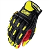 Mechanix Wear M-Pact ORHD Black & Yellow Performance Work Gloves