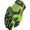 Mechanix Wear M-Pact High Vis Lime Performance Work Gloves