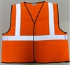 Boston Industrial - High Vis Class II Safety Vest | Orange