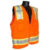 Radians - Class II Two-Tone Surveyor Vest (Orange)