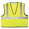 MCR River City - Economy Class II Mesh Safety Vest - Yellow | Lime